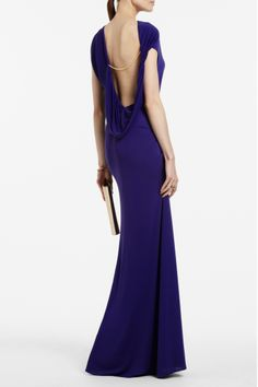 Long dress... neckline Bcbgmaxazria Dresses 751972669