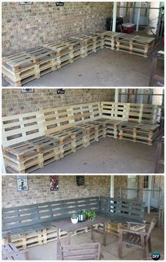Image of: outside pallet furniture pallet patio diy outdoor pallet bench pallet furniture plans 15