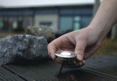 Iluminación LED sumergible para estanques y suelo en jardines y terrazas