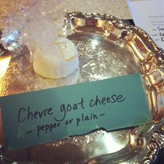 Chevre Goat Cheese (