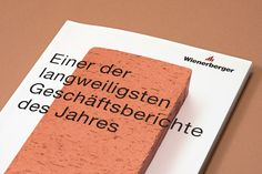 buerox-geschaeftsbericht-wienerberger_02 Editorial Design, Editorial Layout