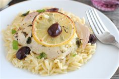 Bev Cooks: Lemon Chicken with Orzo