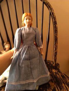 Vintage Ceramic Meg March Little Women Doll ~ 1977 Yield House Exclusive Little Women Doll ~ Vintage ceramic Parian civil war era doll by LittleVixensVintage on Etsy https://www.etsy.com/listing/250923170/vintage-ceramic-meg-march-little-women