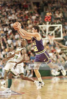 John Stockton, Gary Payton, Pro Basketball, Utah Jazz, All About Time, Nba, Wrestling, Sports, Netball