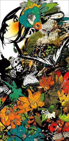 Иллюстрации Marumiyan
