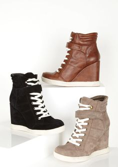 dELiAs > Steve Madden Lleve Sneaker Wedge > shoes > view all shoes $89.50