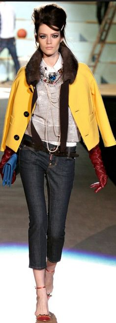 DSQUARED² FALL 2012 READY-TO-WEAR