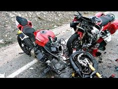 Extreme Graphic Motorcycle Accident Crashes