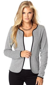 Super seje ONLY Cardigan Diamond Lys gr?meleret ONLY Overdele til Dame i behageligt materiale