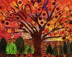 Shannon's Perfect Tree - Quilling Cafe