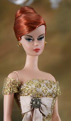 red head silkstone barbie
