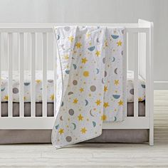 View the Shapes and Textures neutral nursery theme at The Land of Nod to find design ideas and inspiration for the perfect room. Browse neutral nursery ideas.