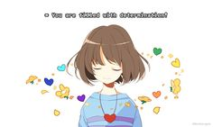 frisk and undertale