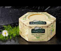 #packaging cheese Queso gallego curado ecológico
