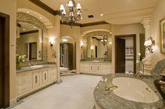 Luxurious bathroom // Mockingbird Estate - Luxury Calvis Wyant Homes
