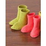 Slipper Boots - Patterns   Yarnspirations