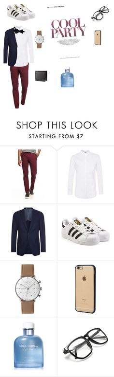 """""""la class"""" by naomy-nona ❤ liked on Polyvore featuring Red Camel, Topman, BOSS Hugo Boss, adidas, Junghans, Incase, Dolce&Gabbana, men's fashion and menswear"""