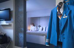 KLM uniform