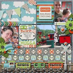 Layout using {All Aboard} Digital Scrapbook Kit by Digilicious Design available at Sweet Shoppe Designs http://www.sweetshoppedesigns.com/sweetshoppe/product.php?productid=30844&page=1 #digiscrap #digitalscrapbooking #digiliciousdesign #allaboard