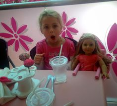 Eclectic Pat: THE AMERICAN GIRL STORE EXPERIENCE I loved telling the story with photos.  The expression on the girls' faces were priceless and it brought out the young girl in each of us.  Enjoy!