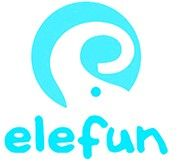 Let's have fun with Elefun! Craft Projects, Company Logo, Rose Gold, Logos, Party, Globe Decor, Logo, Parties