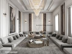 Decor Home Living Room, Living Room Decor Inspiration, Living Room Sofa Design, Home Room Design, Living Room Designs, Luxury Rooms, Luxury Homes Interior, Luxurious Bedrooms, Interior Design