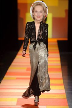 Meryl Streep - Jean Paul Gaultier http://elle.com.tr/fotogaleri_FotoGaleriDetay/1961.aspx