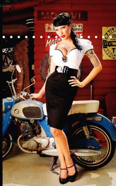 Moda atomica: Pin Up InStyle