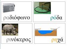 Picture Greek Language, Educational Activities, School, Greek, Teaching Materials, Schools, Educational Crafts