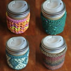cup sweaters, I would like to knit these. Foodinjars.com