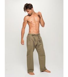 Organic Men s Yoga Pants - Earth Green Share this Pin d2b9e818bfcca