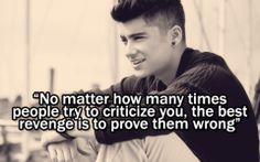 Short Quotes By Zayn Malik