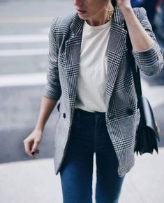 fd7a5bee7c63c How to Wear  The Check Blazer