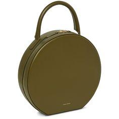 Mansur Gavriel Circle Bag in OLIVE