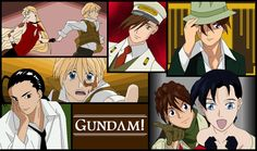 Gundam Wing + Baccano - DONE by laureng2