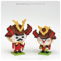 « Kintaro ... This version featuring the Onigiri mascot for Liang Court mall  ... http://www.christan.design ... #chrisnanoblock #nanoblock #nanoblocks… »