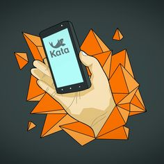 Kata phone artwork