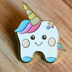 Toothy unicorn. #dentistry
