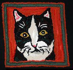 Cat portrait  2003 Louisa Creed