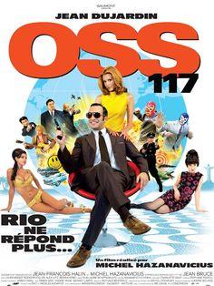 OSS 117 Rio ne répond plus - 2009 - Michel Hazanavicius - Jean Dujardin - Toujours excellent. Répliques cultes, image magnifique. Formidable Dujardin. Mais quelques longueurs ou caricatures excessives ici. Note: 8/10