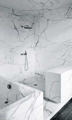 Marble Bathroom Tile source: denman bennett amazing master bathroom shower features