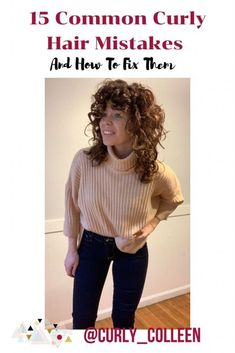 Tired of having stringy curls? Read these 15 Common Curly Hair Mistakes And How To Fix Them. Great curls are in your future. Thin Curly Hair, Wavey Hair, Curly Hair Tips, Curly Hair Care, Curly Hair Styles, Natural Hair Styles, Short Hair, Hair Plaits, Natural Hair Shampoo