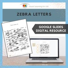 """This digitally interactive resource is designed for use with Google Slides. This resource contains 10 slides in total. Answer sheets are included.The student must find the letter specified in the instruction behind the """"zebra lines"""", and drag the circles to mark the correct answers."""
