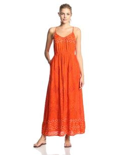 Lucky Brand Women's Irving and Fine Maxi Dress