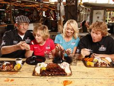 Meet the First Family of Mississippi Barbecue and stars of the all-new series #TheShed, premiering August 4 at 10|9c.