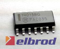 [ELBROD] CD4013 --MC14013---  SMD --- (2szt)  /812