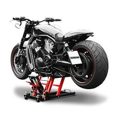 Motorcycle lift ConStands Mid-Lift L black-red for Harley Davidson Sportster 883/ Custom (XL 883 C)/(XL 883), Sportster 883 Hugger (XLH 883), Sportster 883 Iron/ Low (XL 883 N)/(XL 883 L), Sportster 883 R Roadster (XL 883 R), Sportster 883 Superlow (XL 883 L), Sportster Forty-Eight 48 (XL48), Springer Classic (FLSTSCI), Street Glide (FLHX), Street-Rod (VRSCR), V-Rod/ Muscle (VRSCF)/(VRSCA/W), XR 1200/ X (XR-1200 X)/(XR-1200): Amazon.co.uk: Car & Motorbike #harleydavidsonsportsterfortyeight