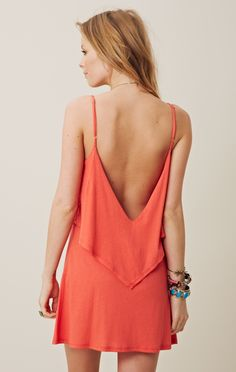 LOW BACK SUNDRESS