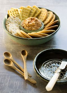 Easy Vegan Black-Eyed Pea Pecan Pate is perfect for a New Year's Eve party or to use up those leftover black-eyed peas from New Year's Day!