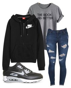 """Untitled #149"" by kingrabia on Polyvore featuring NIKE"